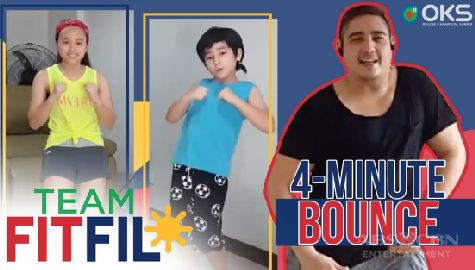 4-Minute Bounce MNL48 High Tension Dance Workout | Team FitFil Episode 14 Image Thumbnail