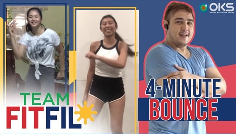 4-Minute Bounce with Kiara Takahashi and Kaori Oinuma | Team FitFil Episode 15 Image Thumbnail