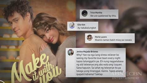 """TV Patrol: """"Make It With You"""" ng LizQuen, maugong na kanselado na Image Thumbnail"""