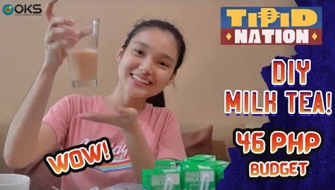 Tipid Nation: DIY Milk Tea Recipe | Miss Tipid Karina