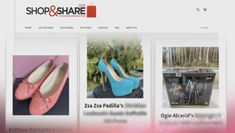 "TV Patrol: Second batch ng celebrity items, naka-auction na sa ""Shop and Share 2020"" Image Thumbnail"