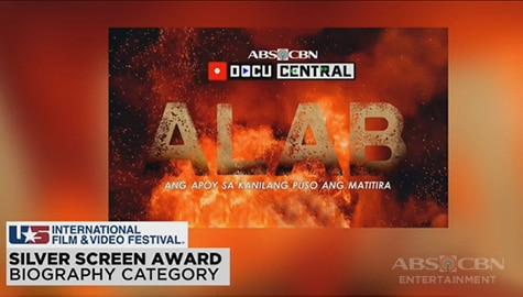 TV Patrol: Mga dokumentaryo ng ABS-CBN, big winner sa U.S. Int'l Film & Video Festival Image Thumbnail