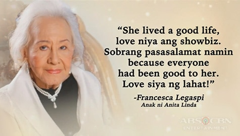 TV Patrol: Pinoy movie icon Anita Linda, pumanaw na sa edad na 95 Image Thumbnail