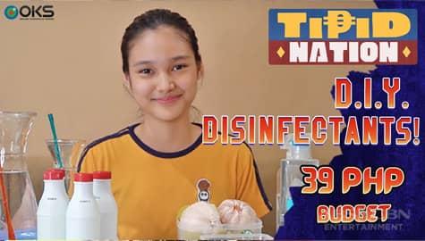 Tipid Nation: DIY Disinfectants   Miss Tipid Karina Thumbnail