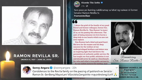 TV Patrol: Pakikiramay, bumuhos sa pamilya ng yumaong Senador Ramon Revilla Sr. Image Thumbnail
