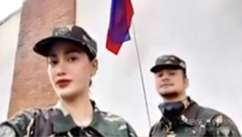 TV Patrol: Arci Muñoz at JM De Guzman, abala sa training sa PH Air Force