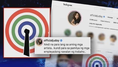TV Patrol: Juday, nanawagan ng panalangin para sa mga empleyadong posibleng mawalan ng trabaho Image Thumbnail