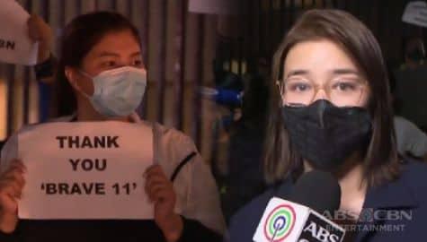 TV Patrol: Kapamilya stars, sumama sa noise barrage nitong weekend bilang pagkondena sa pagpatay sa ABS-CBN franchise Image Thumbnail