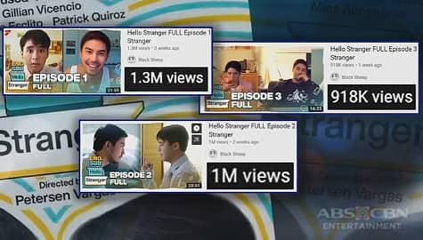 "TV Patrol: Digital series na ""Hello Stranger,"" patok sa mga manonood online Image Thumbnail"
