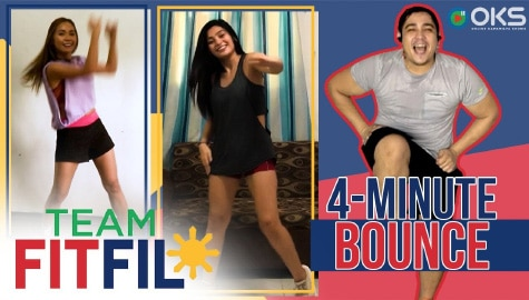 "4-Minute ""Drive"" Dance Workout with Abi Kassem and FitFil Teammate, Erica! 