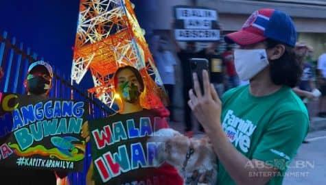 TV Patrol: KathNiel, Enchong, at mga beteranong artista, nakiisa sa noise barrage para sa ABS-CBN Image Thumbnail