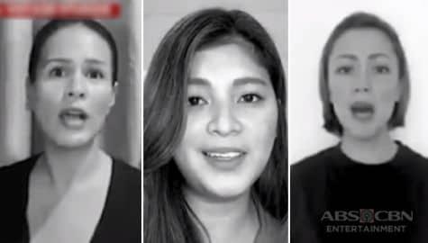 """TV Patrol: Iba't-ibang personalidad, tampog sa music video ng """"'Di Mo Ba Naririnig"""" Image Thumbnail"""