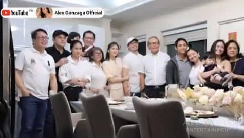 TV Patrol: Pamilya ni Alex Gonzaga, nakilala na ang pamilya ni Mikee Morada bago ang kanilang kasal Image Thumbnail