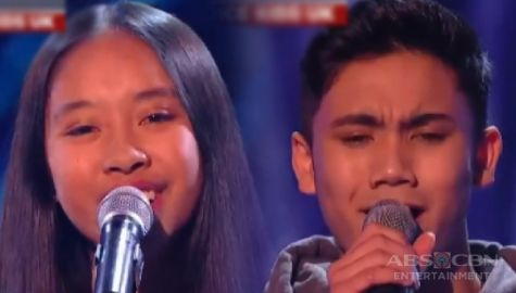 TV Patrol: Dalawang batang Pinoy, nakakuha ng 4-chair turner sa The Voice Kids UK Image Thumbnail