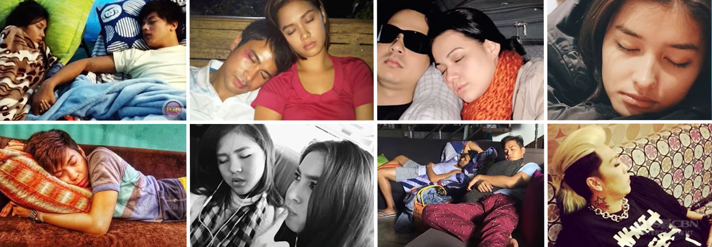 Kapamilya Snaps: Amusing, unguarded moments Kapamilya celebrities are caught sleeping