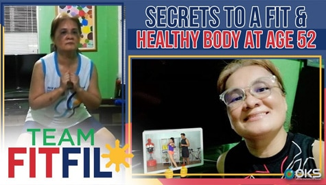 Fitfil Teammate shares the secrets to a fit and healthy body at age 52! | Team FitFil Episode 31 Image Thumbnail