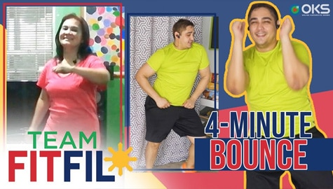 Modified 4-Minute Bounce for Older Adults | Team FitFil Episode 31 Image Thumbnail