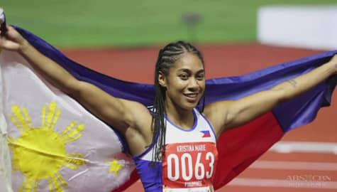 TV Patrol: Kristina Knott, binasag ang long-standing 100-meter dash record ni Lydia De Vega Image Thumbnail