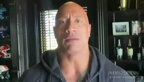 """TV Patrol: Dwayne """"The Rock"""" Johnson at kanyang pamilya, nagpositibo pero gumaling na sa COVID-19 Image Thumbnail"""