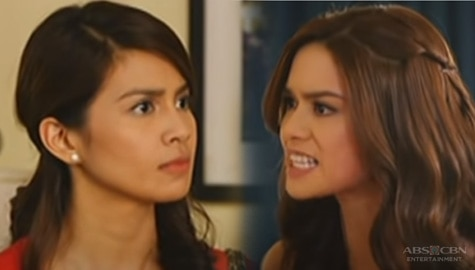 WATCH: 'Wag kang bitter!' Panoorin muli ang salpukan nina Janine at Yvonne sa Two Wives