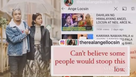 TV Patrol: Angel Locsin, itinangging hiwalay na sila ni Neil Arce