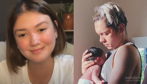 TV Patrol: Angelica, masayang binati ang ex-boyfriend na si Carlo Aquino sa pagiging daddy nito Image Thumbnail