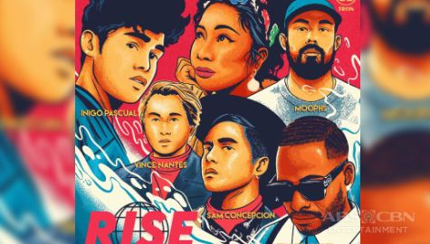 "TV Patrol: Iñigo Pascual at Sam Concepcion, nakipag-collaborate sa international artists para sa kantang ""Rise"" Image Thumbnail"