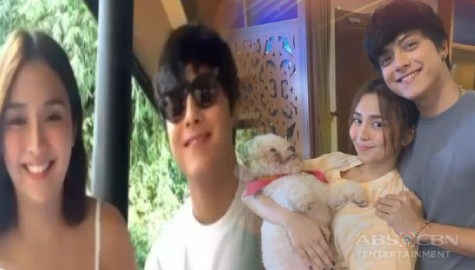 "TV Patrol: KathNiel, bibida sa digital movie series na ""The House Arrest of Us"" Image Thumbnail"