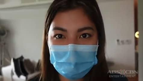 TV Patrol: Angel Locsin, ipinakita ang kanyang bagong routine sa new normal setup