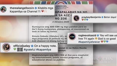 TV Patrol: Paglulunsad ng A2Z Channel 11, ikinatuwa ng Kapamilya celebrities Image Thumbnail