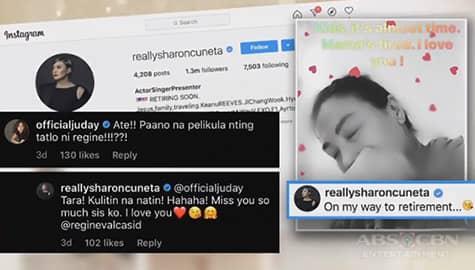 TV Patrol: Megastar Sharon Cuneta, nilinaw ang Instagram post na malapit na siyang mag-retire Image Thumbnail
