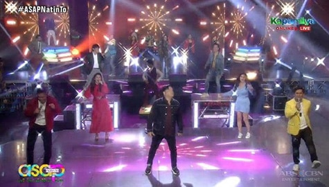 TV Patrol: Kapamilya stars, nagsama-sama sa bigating performances sa ASAP Natin 'To Image Thumbnail