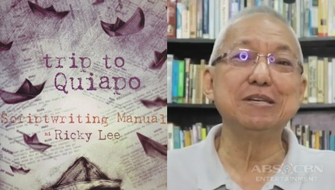 "Scriptwriting book ni Ricky Lee na ""Trip to Quiapo,"" isa nang 5-part documentary series sa iWant TFC"