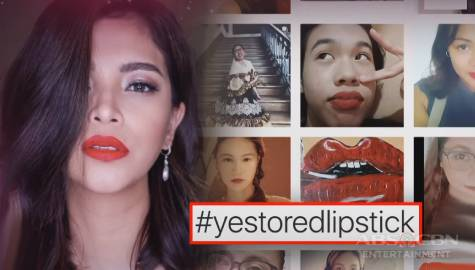 TV Patrol: Mga Pinay at kapwa celebrities, nakiisa sa laban ni Angel Locsin sa #YesToRedLipstick Image Thumbnail