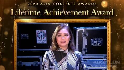 TV Patrol: ABS-CBN, ginawaran ng Lifetime Achievement Award sa 2020 Asia Contents Awards Image Thumbnail