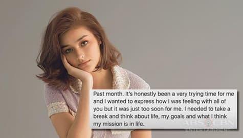 TV Patrol: Liza Soberano, umamin na dumadaan sa mga pagsubok Image Thumbnail