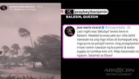 TV Patrol: Ilang artista, naapektuhan din ng bagsik ng bagyong Ulysses Image Thumbnail