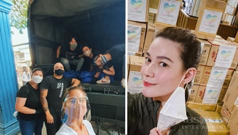 TV Patrol: Celebrities at fans sanib-pwersa sa paghahatid ng tulong sa mga sinalanta ng bagyo Image Thumbnail