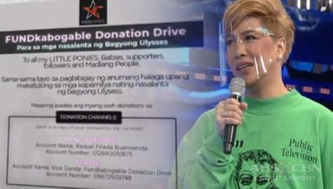 TV Patrol: Vice Ganda, maghahatid ng tulong sa pamamagitan ng FUNDkabogable donation drive Image Thumbnail