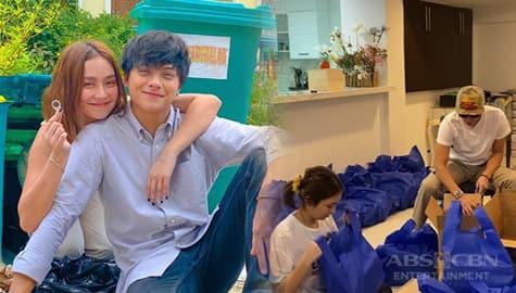 TV Patrol: KathNiel, nag-repack ng relief items para sa mga nasalanta ng bagyo Image Thumbnail
