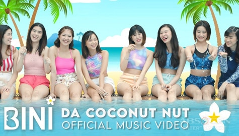 "WATCH: BINI's ""Da Coconut Nut"" Official Music Video 