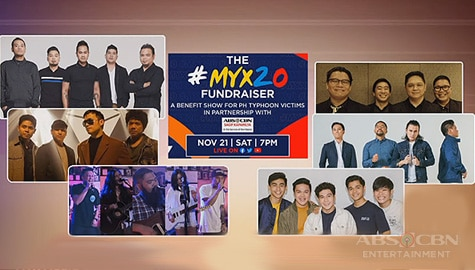 TV Patrol: Star-studded fundraiser, mapapanood sa Myx music channel at Myx social media platforms bukas Image Thumbnail