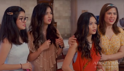 "TV Patrol: Mas batang bersyon ng Salazar sisters, tampok sa prequel movie na ""Four Sisters Before the Wedding"""