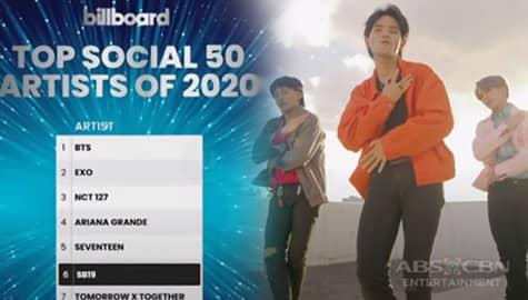 TV Patrol: P-Pop group SB19, humakot ng parangal sa 2020 RAWR Awards at pang-6 sa Top Social 50 Artists ng Billboard Image Thumbnail