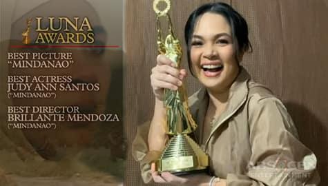 TV Patrol: Pelikulang 'Mindanao,' humakot ng awards sa Luna Awards Image Thumbnail