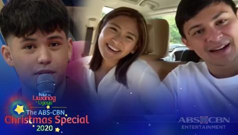 ABS-CBN Christmas Special 2020: Kyle receives surprise message from his close friends Image Thumbnail