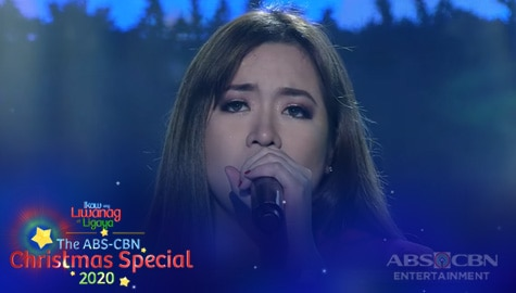 "ABS-CBN Christmas Special 2020: Angeline Quinto performs the theme song of ABS-CBN's newest teleserye ""Huwag Kang Mangamba"" Image Thumbnail"