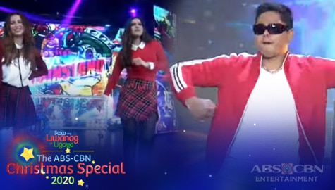 WATCH: Coco Martin, FPJ's Ang Probinsyano Family perform 90s dance hits | ABS-CBN Christmas Special 2020 Thumbnail