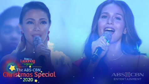 "WATCH: Iza and Jodi sing ""Sana Ngayong Pasko"" with Koro Jesu 