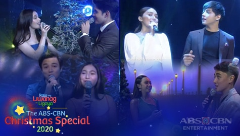 WATCH: KathNiel, Kapamilya Loveteams spread kilig vibes with OPM band hits | ABS-CBN Christmas Special 2020 Image Thumbnail